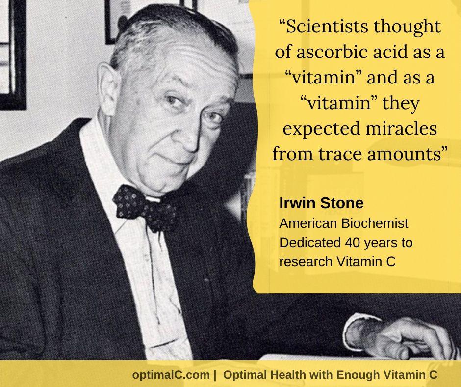 Dr. Irwin Stone