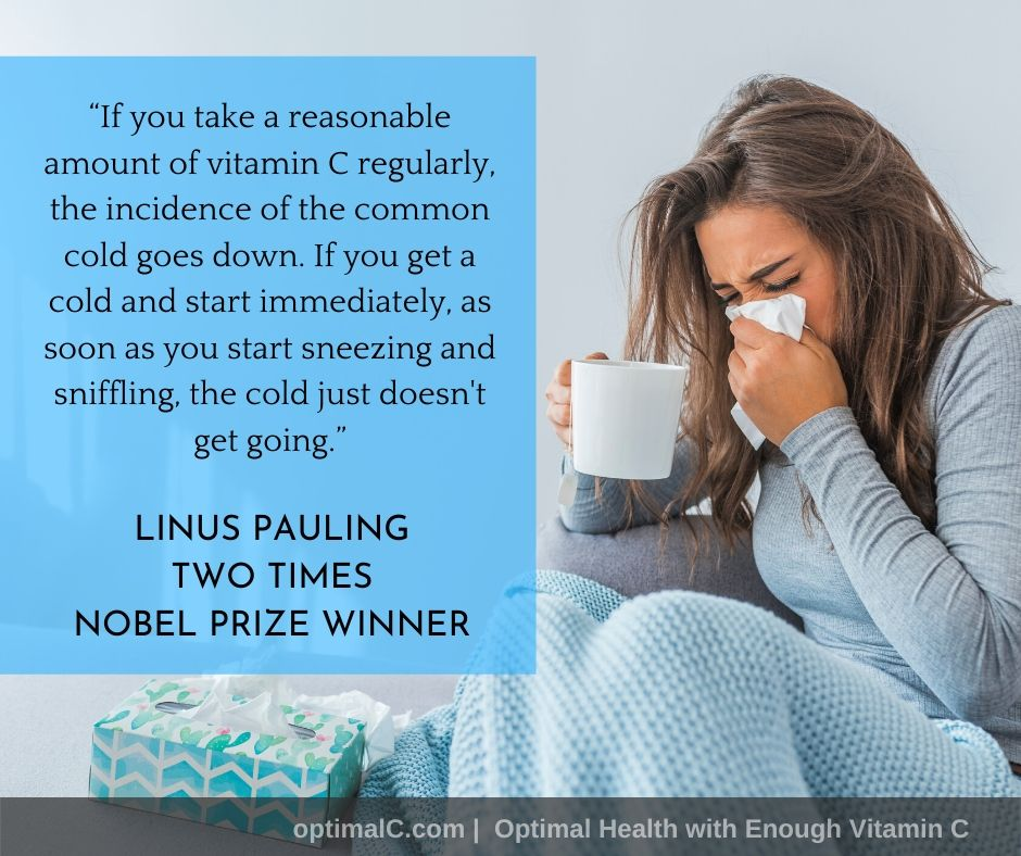 Linus Pauling quotes: Taking vitamin C regularly reduces the incidence of the common cold.